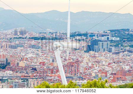 Fortress Montjuic. Barcelona.