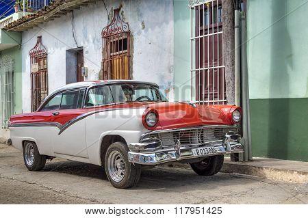 American classic car in Trinidad