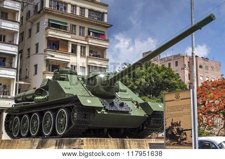 Cuban revolution tank