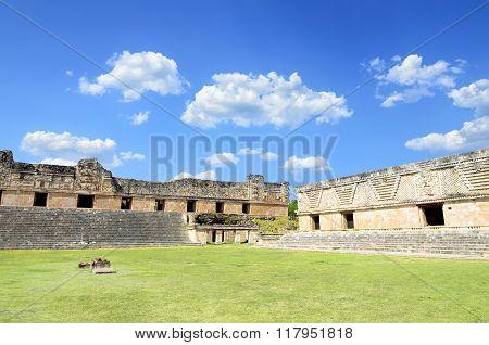 Amazing Mayan Pyramids Ruins In Uxmal