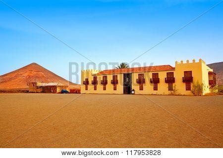 Casa de los Coroneles Fuerteventura La Oliva at Canary Islands of Spain