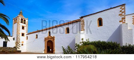 Betancuria Santa Maria church Fuerteventura at Canary Islands matriz cathedral
