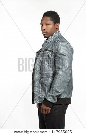 Black Male in Casual Lifestyle Outfit