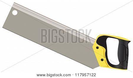 Hacksaw On Wood
