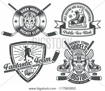 Hockey tattoo