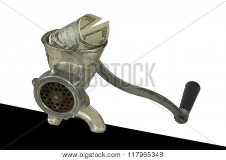 Inflation. The Cash Grinder
