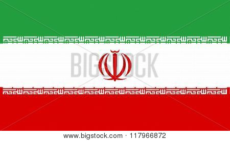 Iranian National Flag