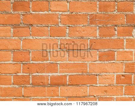 Retro Looking Red Bricks