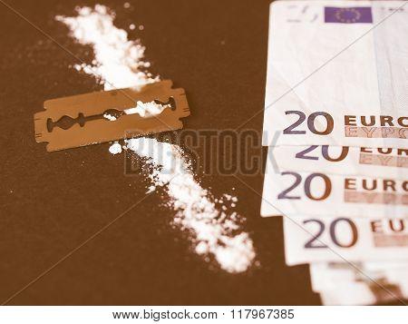 Cocaine Drug Vintage