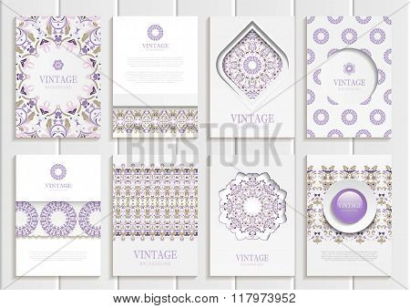 Stock vector set