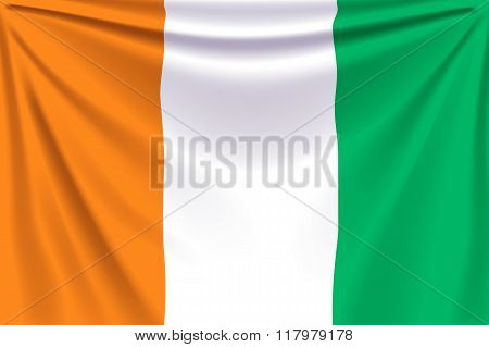 back flag cote d ivoire
