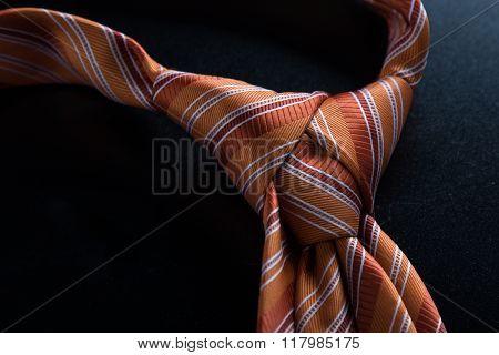 Orange Tie Knot