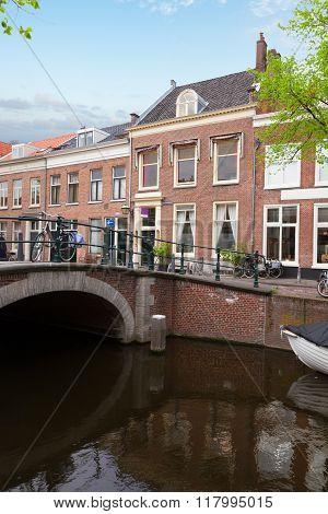 historical centre of  Haarlem, Netherlands