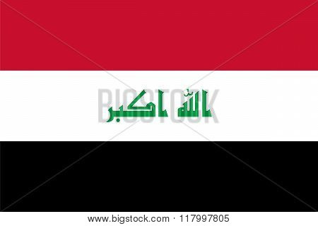 Standard Proportions For Iraq Flag