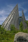 foto of tipi  - The Sami Parliament of Norway  - JPG