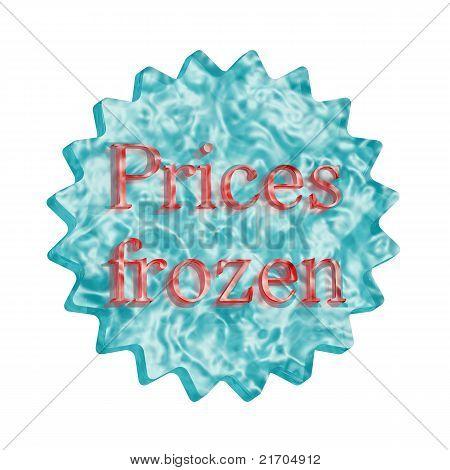 Button Icon: Prices Frozen