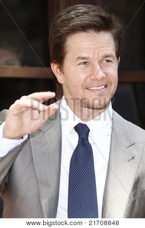 LOS ANGELES - JUL 29: Mark Wahlberg at a ceremony where Mark Wahlberg is honored with a star on the Hollywood Walk of Fame, California on July 29, 2010