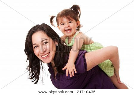 Fun Piggyback Ride