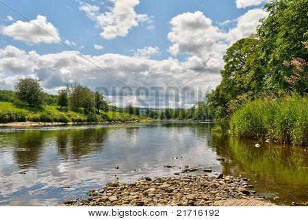 River Ribble scenic