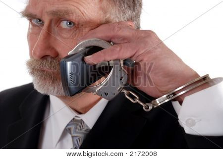 Cuffed To Phone