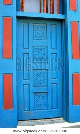 Albuquerque Painted Door