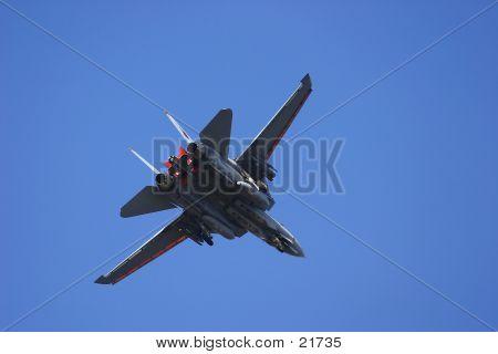 F-18 Hornet - Back