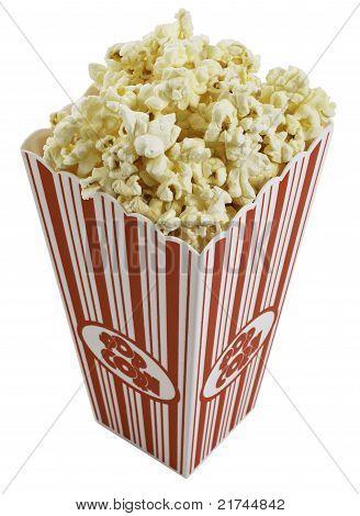Top view of Popcorn Box