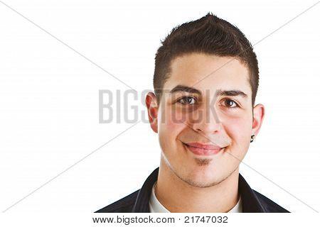 Young Stylish Caucasian Man