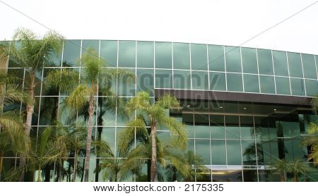 Modern Office Building Business Background Corporate Structrue
