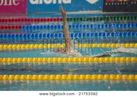 László Cseh (hungary) At European Swimming Championships Len 2010
