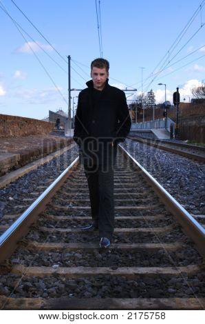 James Dean Style Model