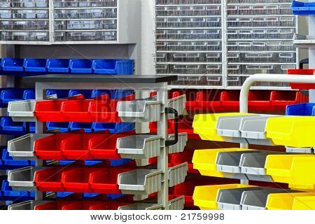 Colourful Rack Assortment