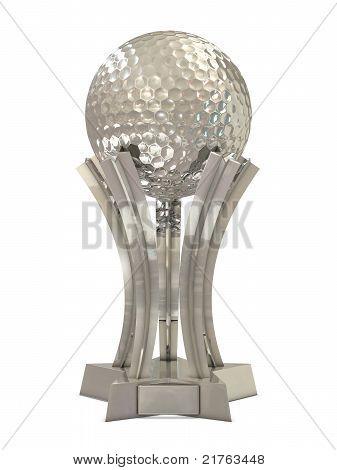 Silver golf award