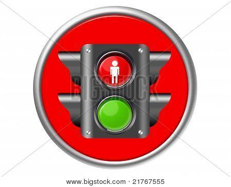 Traffic Light Button