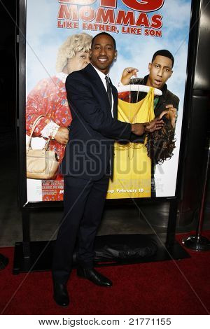 LOS ANGELES - FEB 10: Brandon T. Jackson at the Los Angeles premiere of 'Big Mommas: Like Father, Like Son' at the Cinerama Dome in Los Angeles, California on February 10, 2011