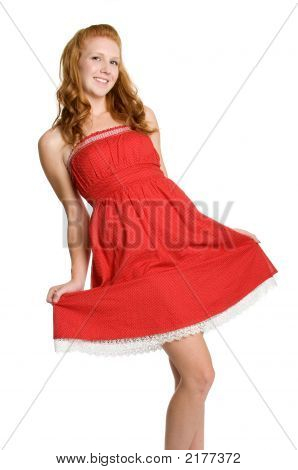 Red Dress Girl