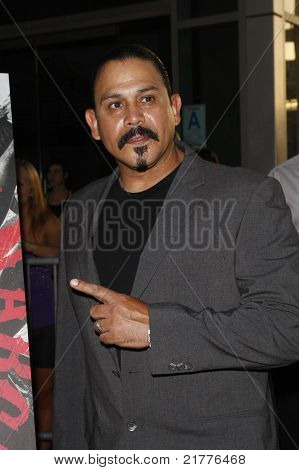 LOS ANGELES - AUG 30: Emilio Rivera at the Season Three premiere screening of 'Sons of Anarchy' at the Cinerama Dome in Los Angeles, California on August 30, 2010