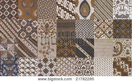 Classical Batik Pattern