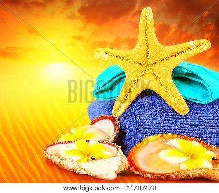 Beach Lifestyle Concept