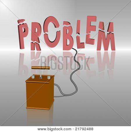 Exploding problem