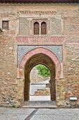 Постер, плакат: Вино ворота вход в Альгамбра