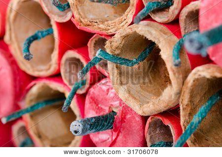 Firecracker Close-up
