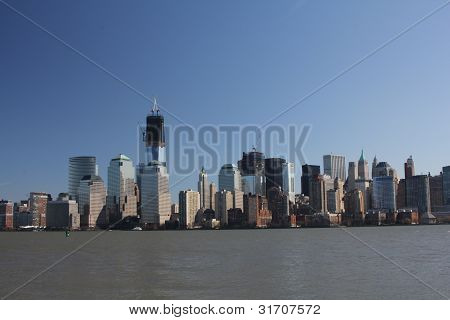 Freedom Tower from New Jersey