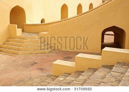 Jantar Mantar Observatory. Jaipur, India