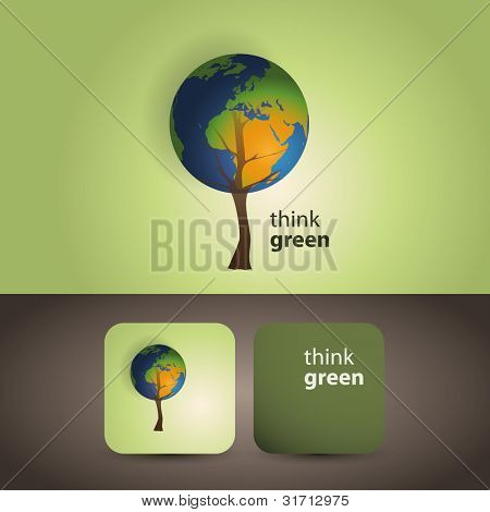 Think green - eco card