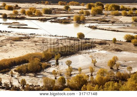 Indus Valley in Autumn, Ladakh, Indian Himalayas, India, Asia