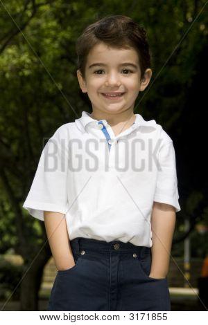 Caucasian Little Boy