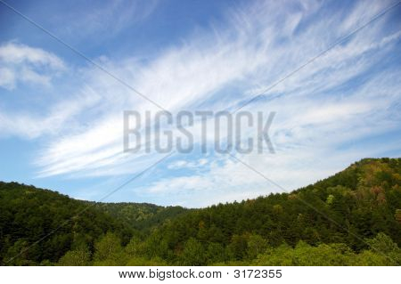 Peristye Cloud On Mountain.