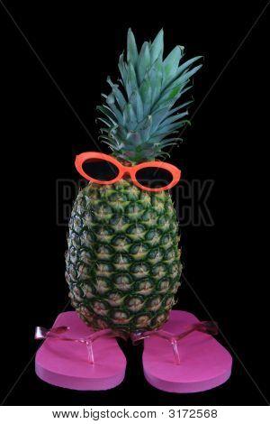 Pineapple Sunglasses Flipflops