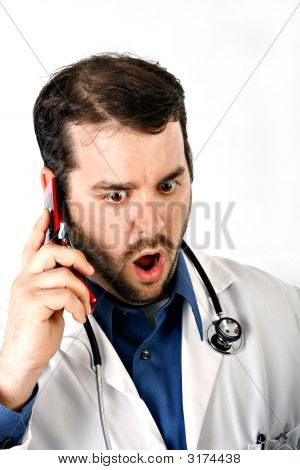 Doctor Terrified Expression